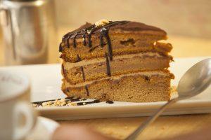 pastel de calabaza y caramelo