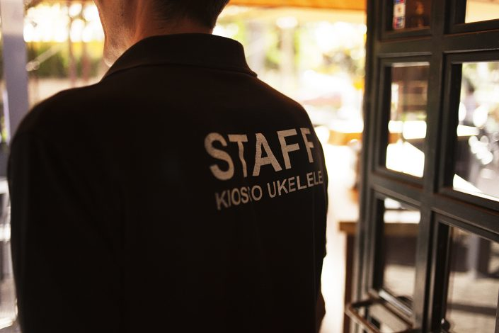 staff kiosco ukelele